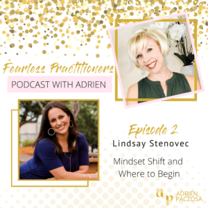 fearless practitioners podcast with lindsay stenovec