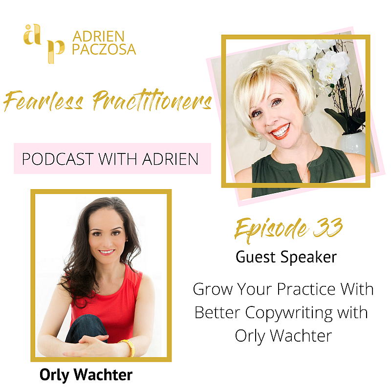 Fearless Practitioners Podcast - Grow Your Practice with Better Copywriting