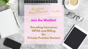 Workshop Waitlist - Fearless Practitioners