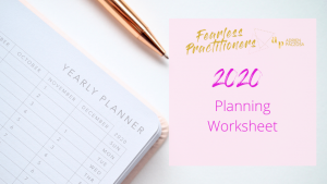 2020 private practice planning