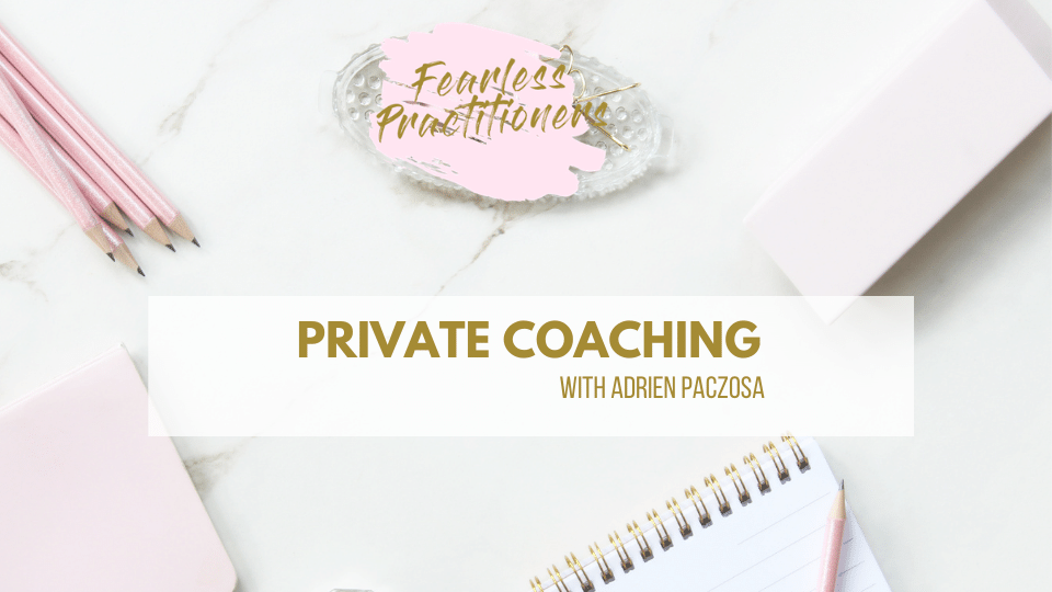 coaching for dietitians and private practice owners