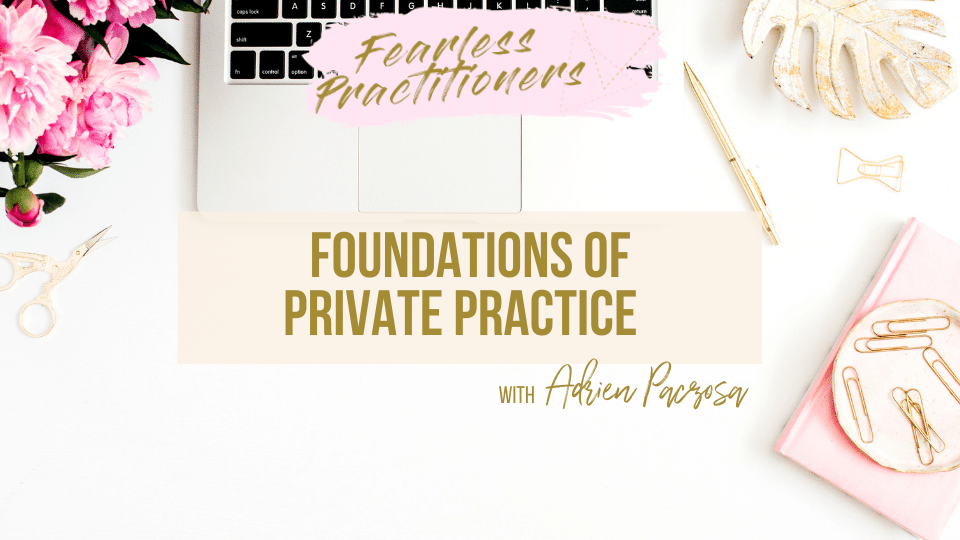 Foundations of Private Practice training for dietitians