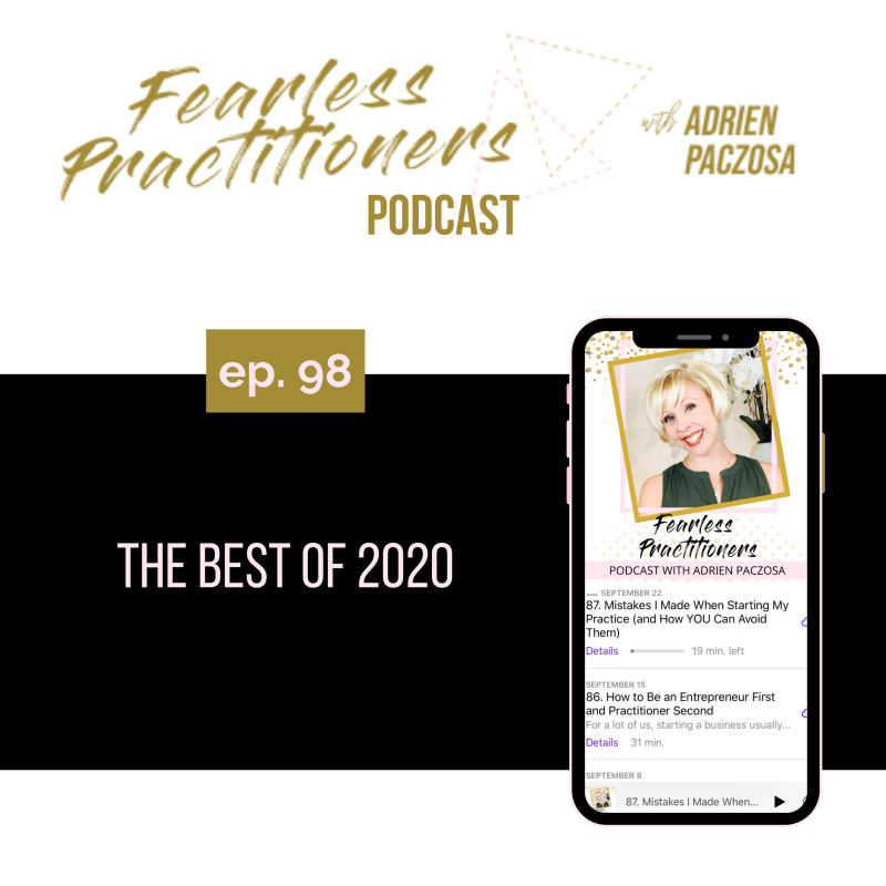Fearless Practitioners - The Best of 2020