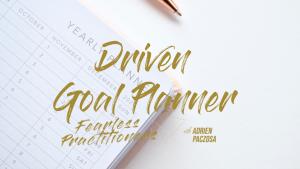 Purpose Drive Planner